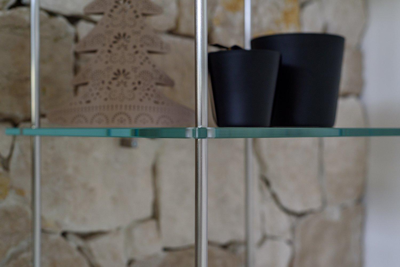 09 dettaglio mobile soggiorno sospeso for Mobile soggiorno vetro
