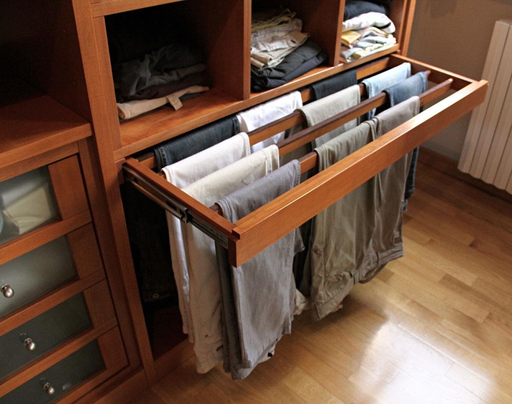 Cabina armadio su misura in ciliegio sprea arredamenti - Cabina armadio su misura ...