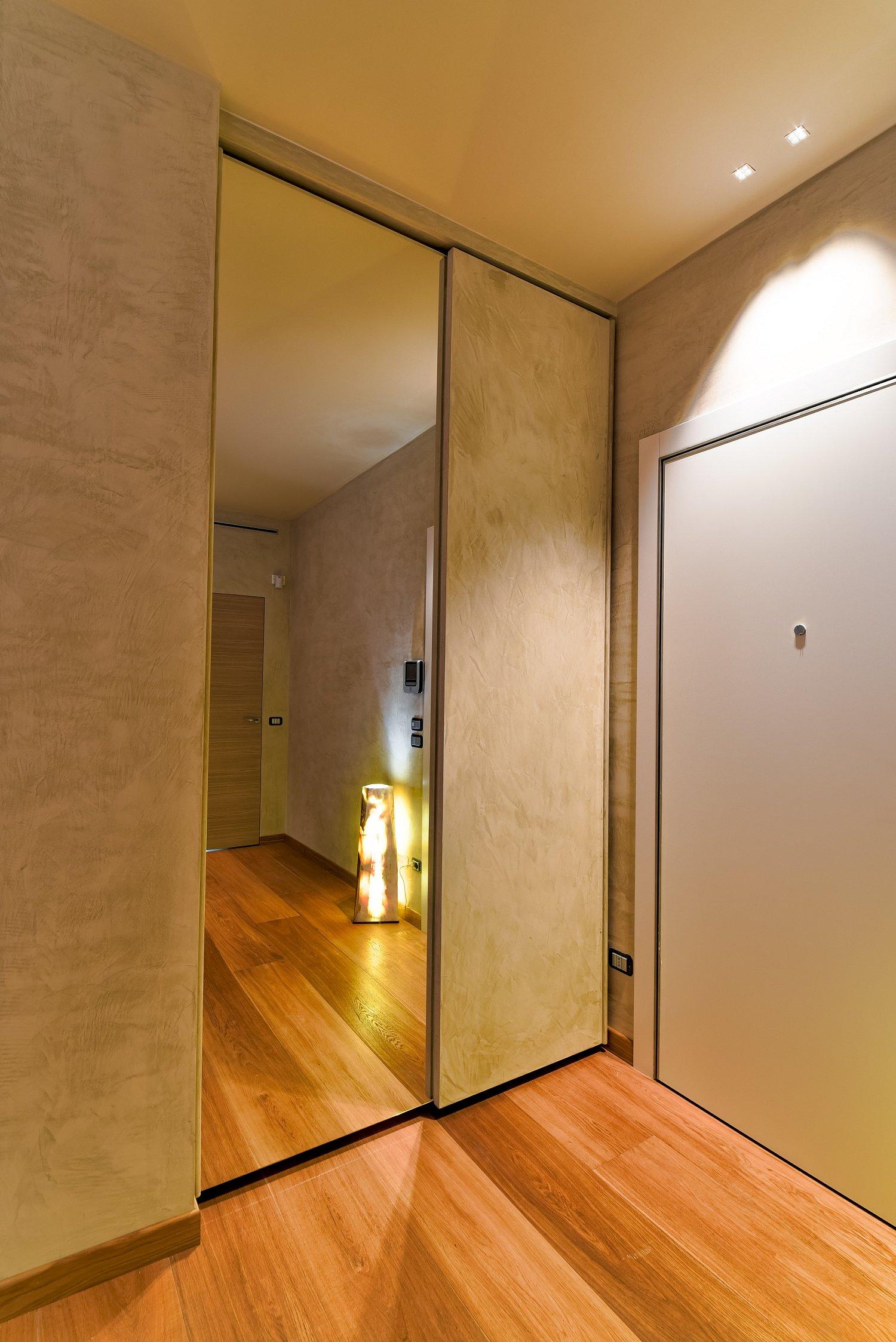 Ante Per Armadi A Muro Su Misura.Ante A Specchio Per Armadio A Muro Simple Cover Struttura Alluminio
