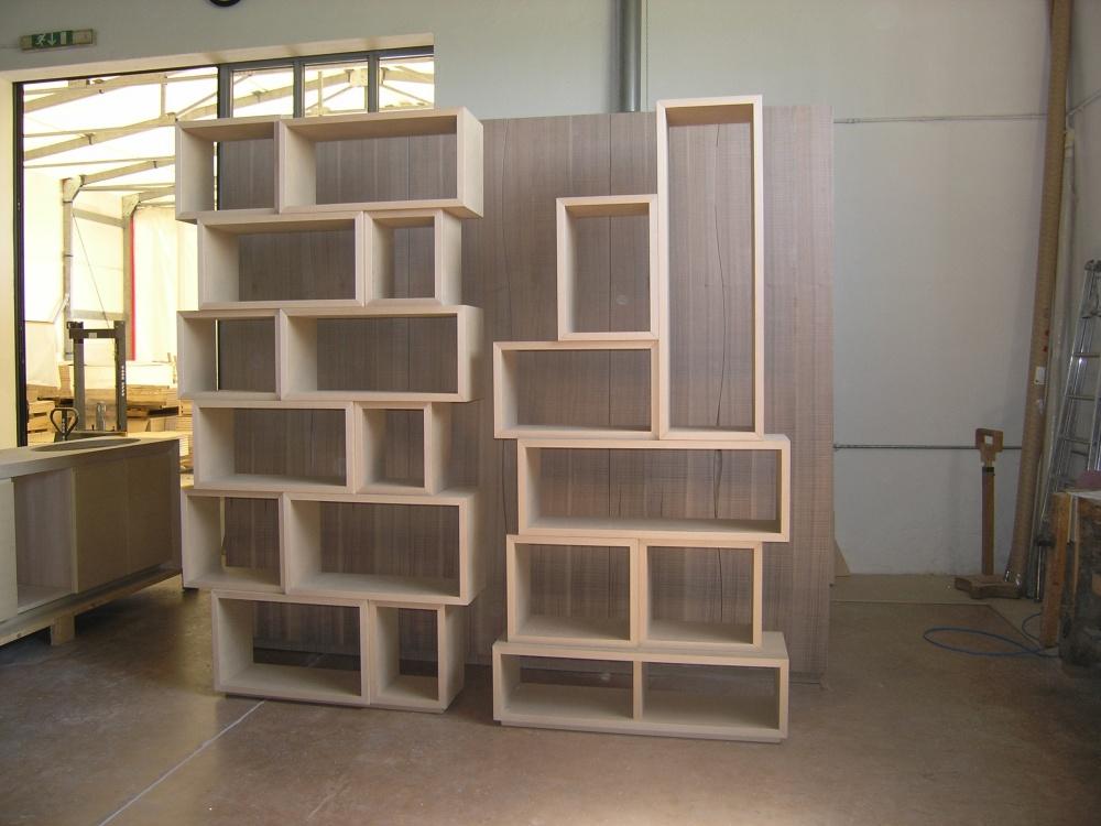 Libreria moderna a giorno su misura sprea arredamenti - Libreria mobile ...